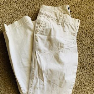 Gap White Boot Cut Pants - Size 6